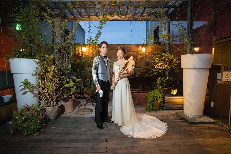 イルコルティーレでの結婚式2