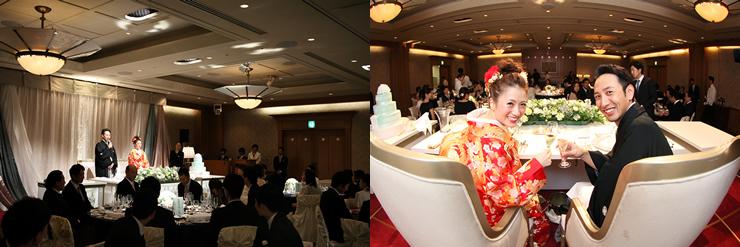 ホテルオークラ福岡の結婚式3