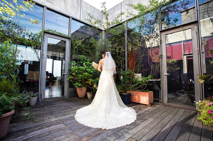 イルコルティーレでの結婚式3