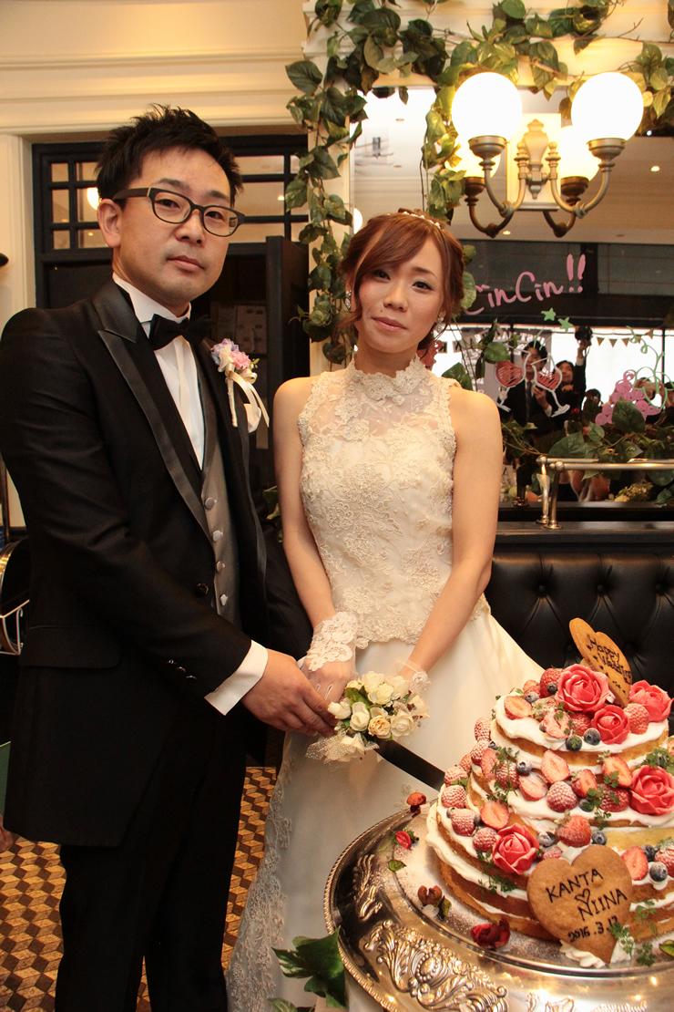 コマツプルミエでの結婚式4