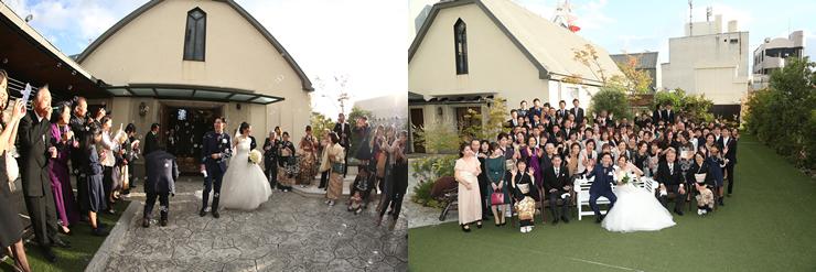 西鉄グランドホテルでの結婚式5