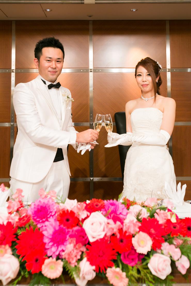 ホテルニューオータニ博多での結婚式3
