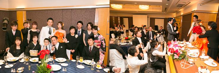 ホテルニューオータニ博多での結婚式5