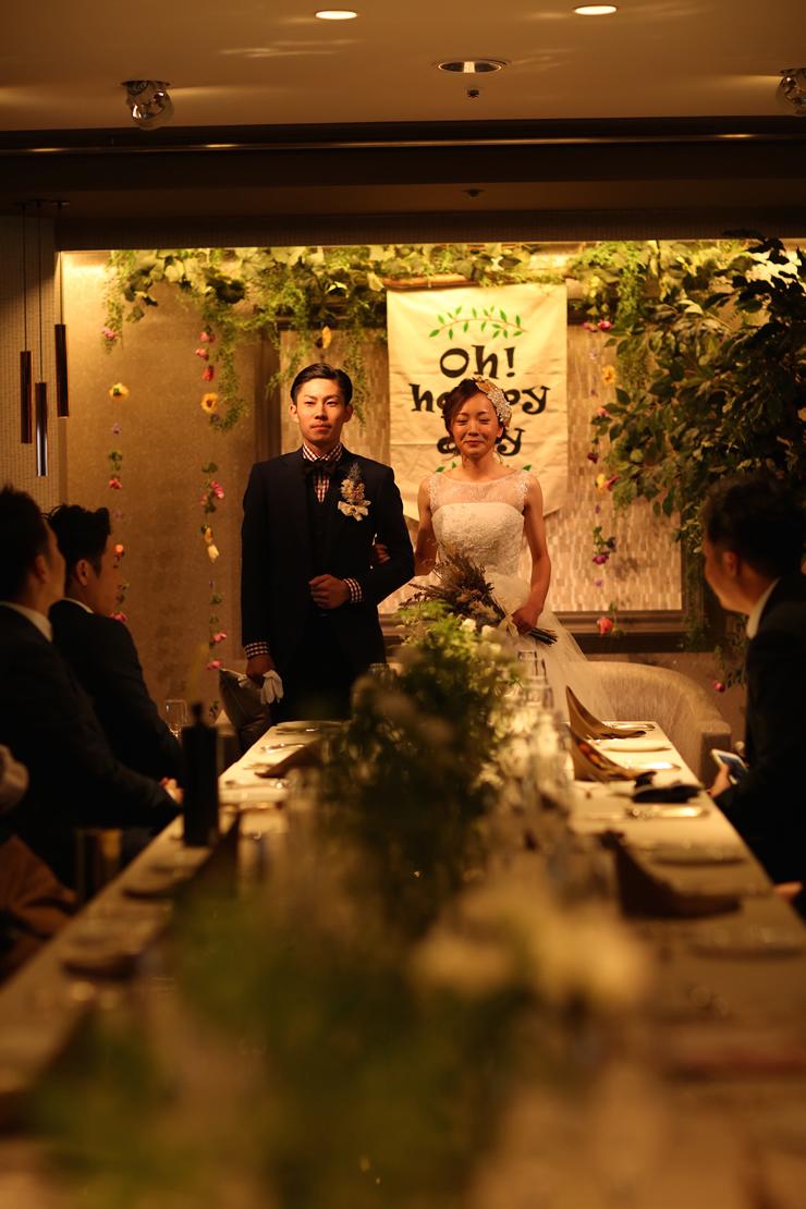 西鉄グランドホテルでの結婚式9