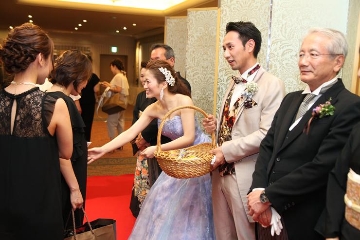 ホテルオークラ福岡の結婚式10