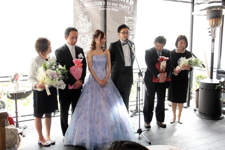 コマツプルミエでの結婚式10