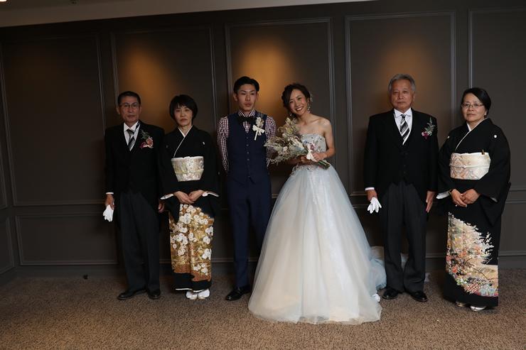 西鉄グランドホテルでの結婚式11
