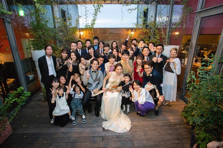イルコルティーレでの結婚式11